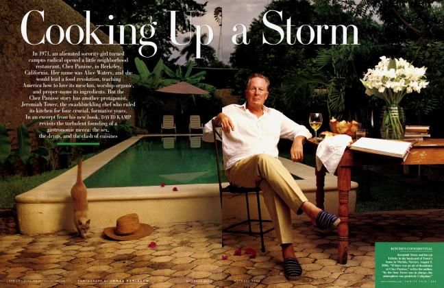 Article Preview: Cooking Up a Storm, October 2006 | Vanity Fair