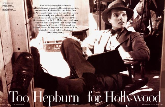 Article Preview: Too Hepburn for Hollywood, October 2006 | Vanity Fair