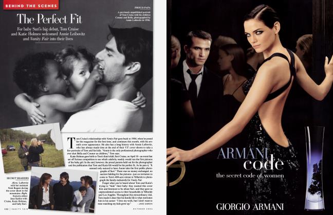 Article Preview: The Perfect Fit, October 2006 2006 | Vanity Fair