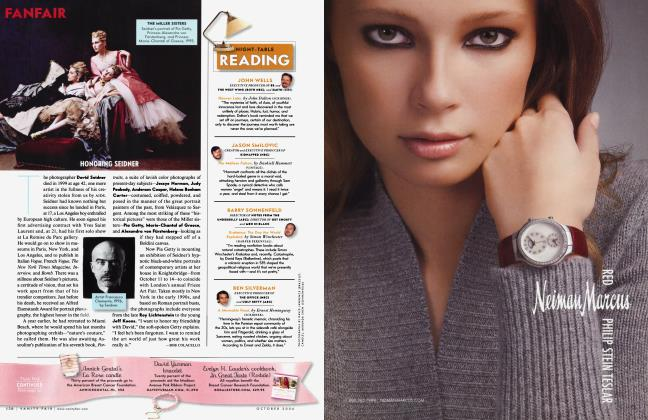 Article Preview: HONORING SEIDNER, October 2006 2006 | Vanity Fair