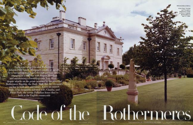 Article Preview: Code of the Rothermeres, November 2006 2006   Vanity Fair