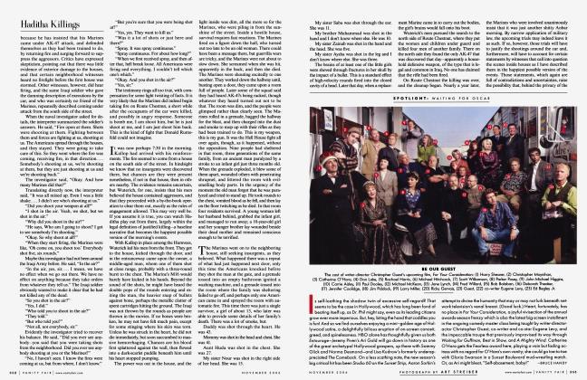 Article Preview: SPOTLIGHT: WAITING FOR OSCAR, November 2006 2006 | Vanity Fair