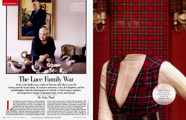 Article Preview: The Luce Family War, November 2006 2006 | Vanity Fair