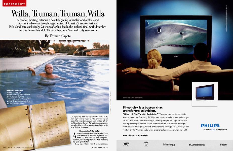 Willa, Truman. Truman, Willa