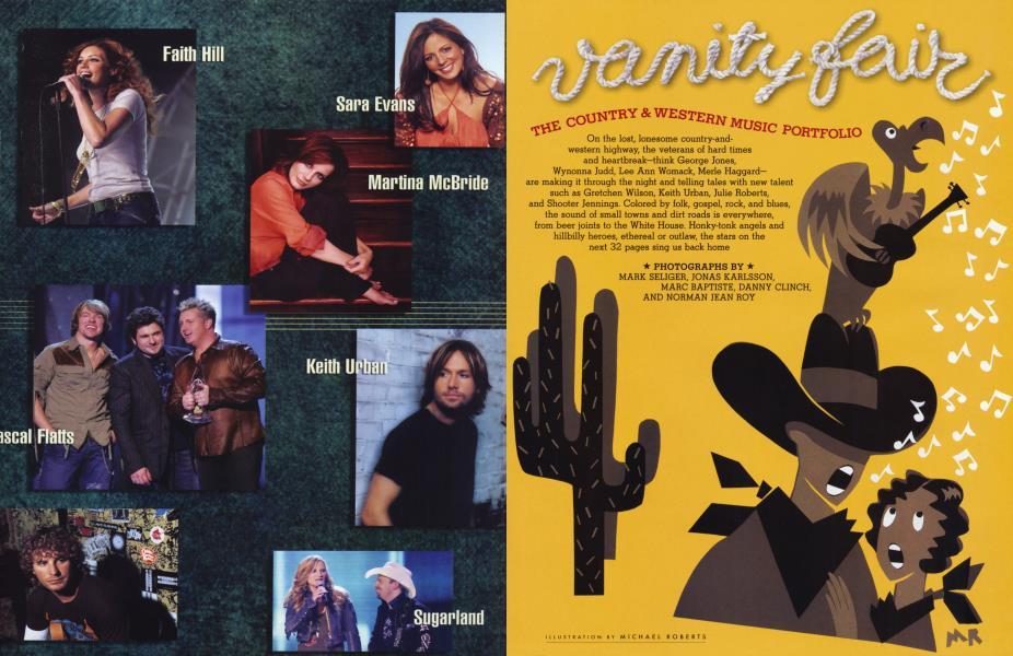Vanity Fair THE COUNTRY & WESTERN MUSIC PORTFOLIO