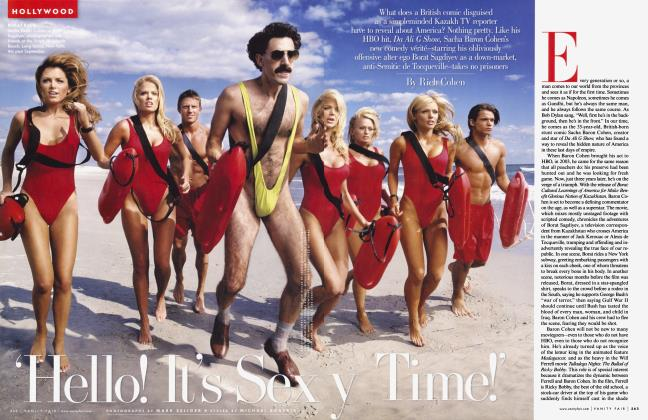 Article Preview: 'Hello! It's Sexy Time!', December 2006 | Vanity Fair
