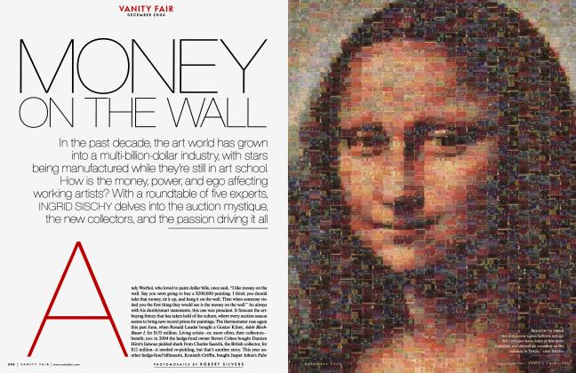Article Preview: MONEY ON THE WALL, December 2006 | Vanity Fair