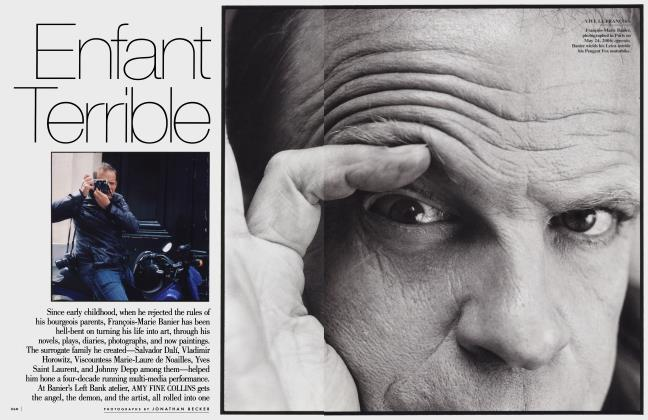 Article Preview: Enfant Terrible, December 2006 2006 | Vanity Fair