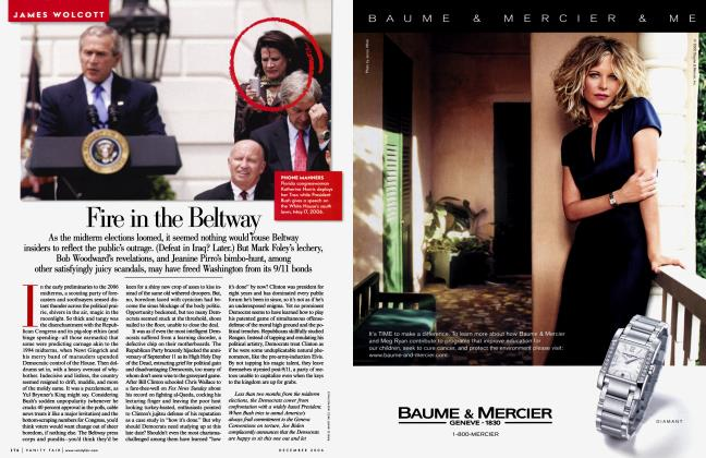 Article Preview: Fire in the Beltway, December 2006 2006 | Vanity Fair