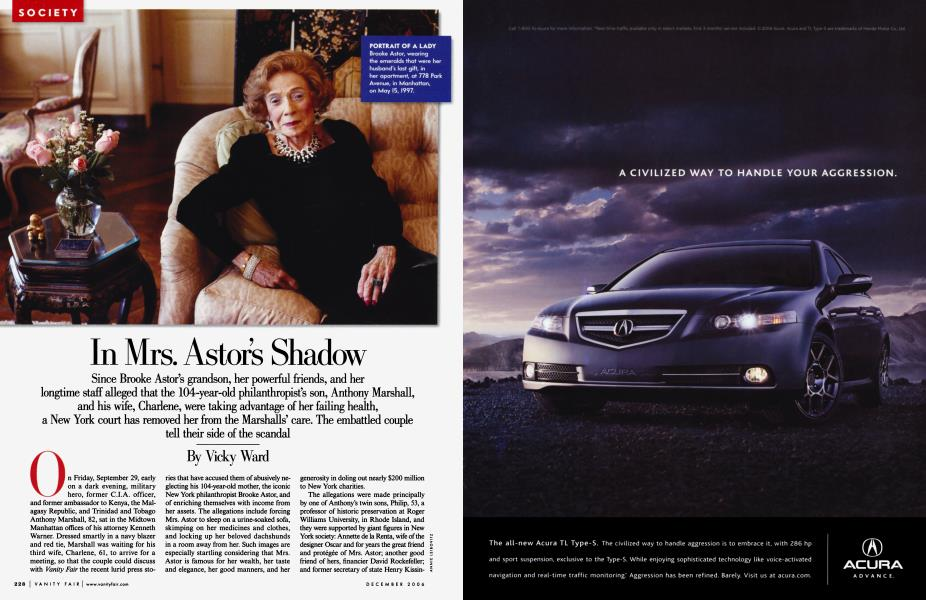 In Mrs. Astor's Shadow