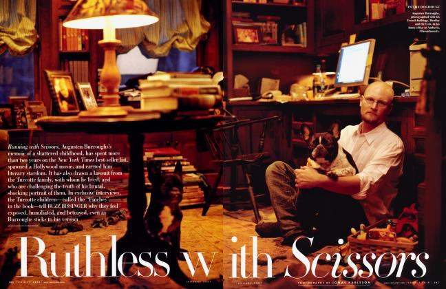 Article Preview: Ruthless with Scissors, January 2007 | Vanity Fair