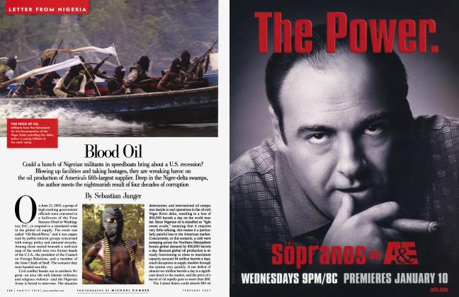 Article Preview: Blood Oil, February 2007 2007 | Vanity Fair