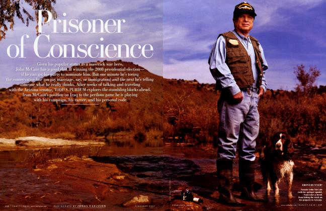 Article Preview: Prisoner of Conscience, February 2007 | Vanity Fair