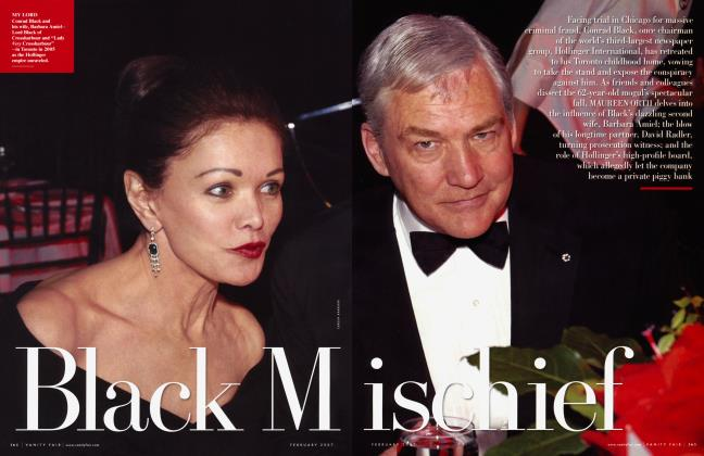Article Preview: Black Mischief, February 2007 | Vanity Fair