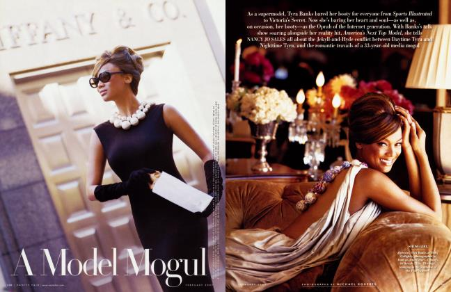 Article Preview: A Model Mogul, February 2007 | Vanity Fair