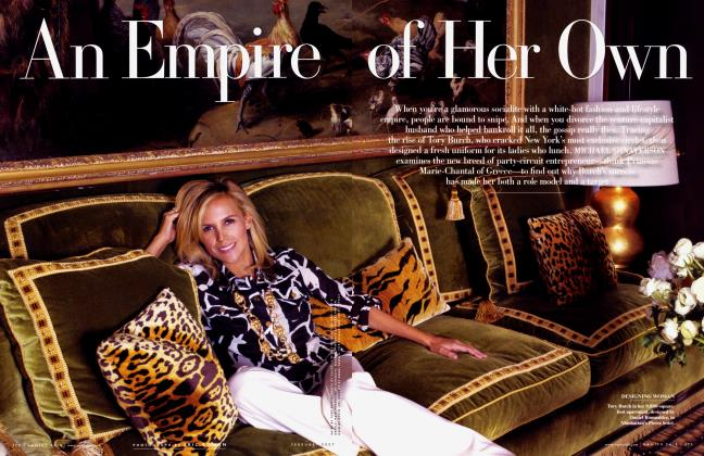 Article Preview: An Empire of Her Own, February 2007 | Vanity Fair