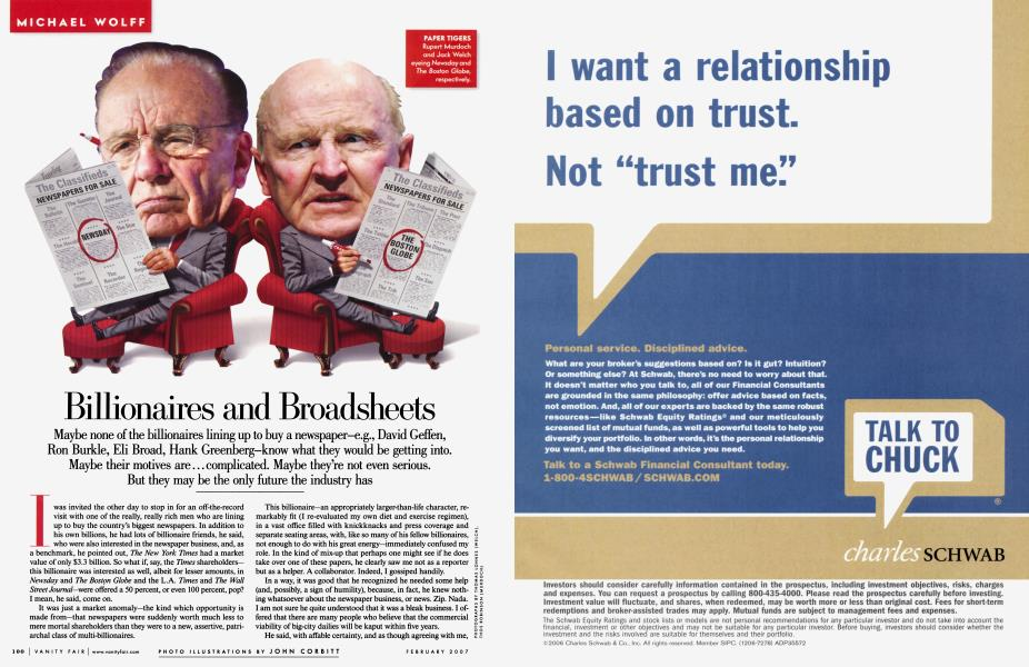 Billionaires and Broadsheets