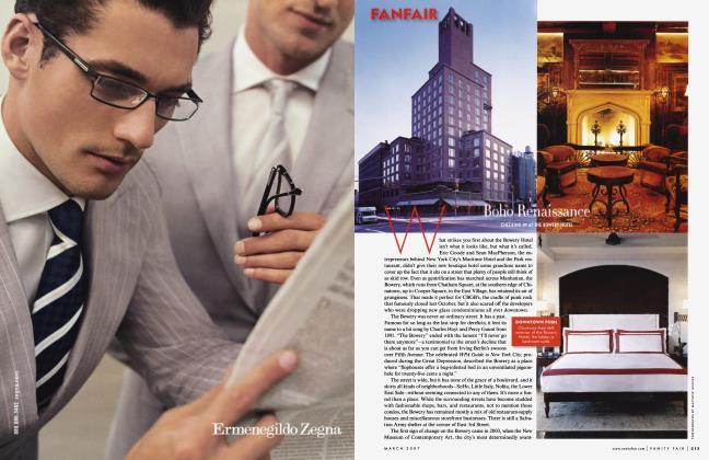 Article Preview: Boho Renaissance, March 2007 2007 | Vanity Fair