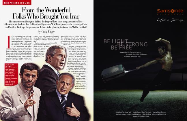 Article Preview: From the Wonderful Folks Who Brought You Iraq, March 2007 | Vanity Fair