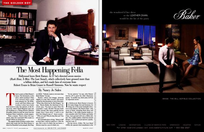 Article Preview: The Most Happening Fella, March 2007 | Vanity Fair