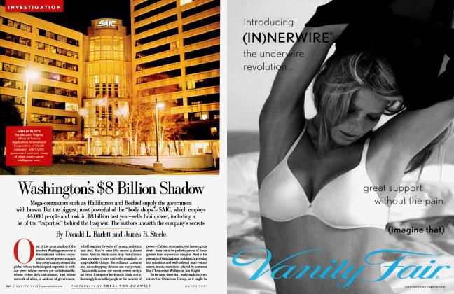 Article Preview: Washington's $8 Billion Shadow, March 2007 2007 | Vanity Fair