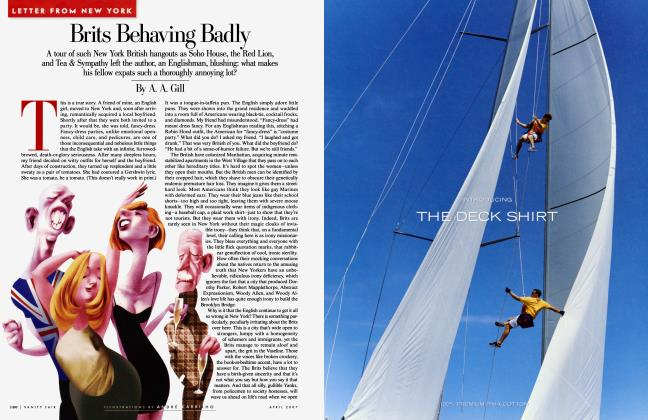 Article Preview: Brits Behaving Badly, April 2007 2007 | Vanity Fair