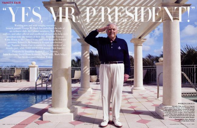 "Article Preview: ""YES, MR. PRESIDENT!"", April 2007 2007 