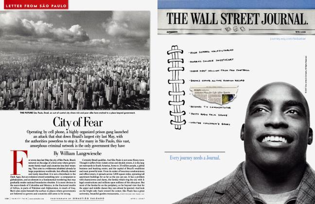 Article Preview: City of Fear, April 2007   Vanity Fair
