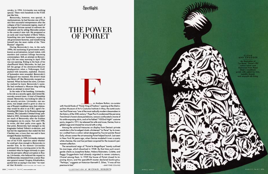 THE POWER OF POIRET