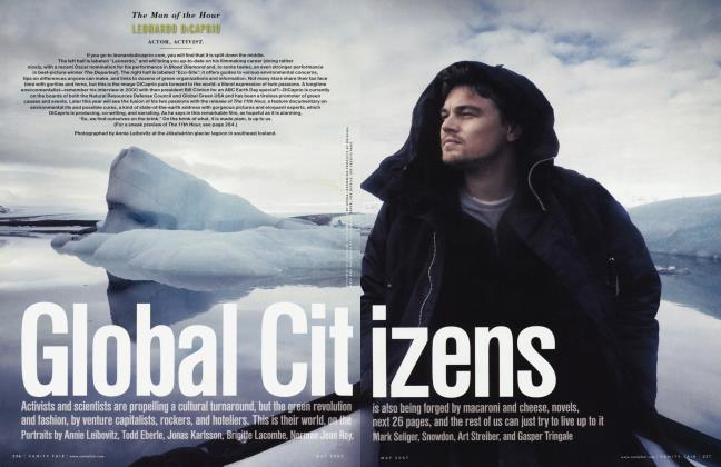 Article Preview: Global Citizens, May 2007 2007 | Vanity Fair