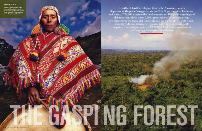 Article Preview: THE GASPING FOREST, May 2007 2007 | Vanity Fair