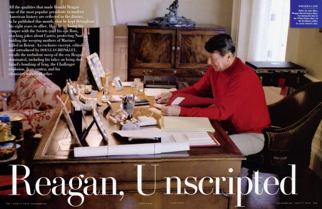 Article Preview: Reagan, Unscripted, June 2007 2007 | Vanity Fair