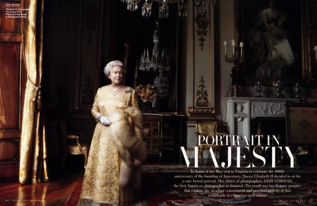 Article Preview: PORTRAIT IN MAJESTY, June 2007 2007 | Vanity Fair