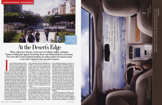 Article Preview: At the Desert's Edge, July 2007 2007 | Vanity Fair