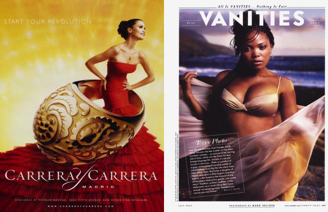 Article Preview: Terry Pheto, July 2007 2007 | Vanity Fair