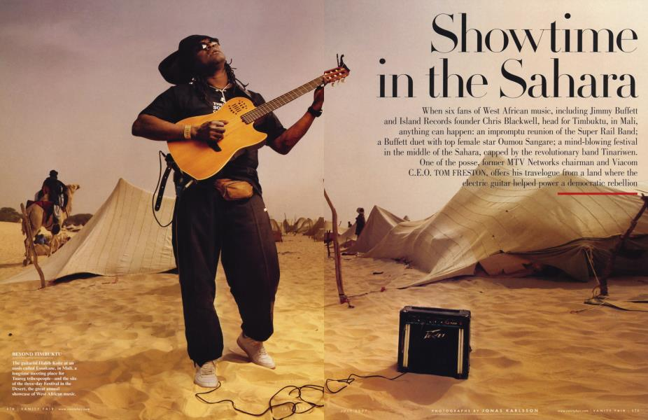 Showtime in the Sahara