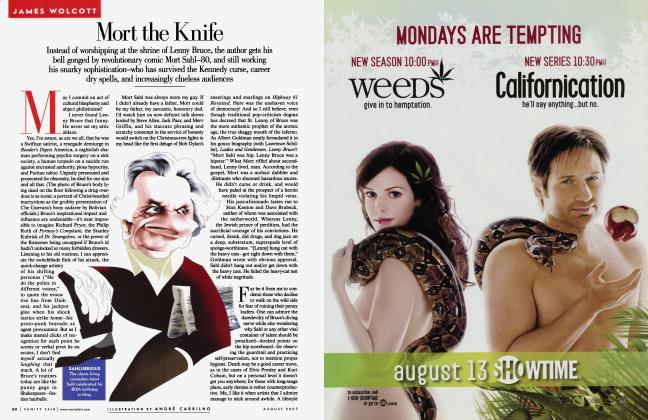 Article Preview: Mort the Knife, August 2007 2007 | Vanity Fair