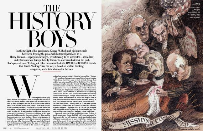 Article Preview: THE HISTORY BOYS, August 2007 2007 | Vanity Fair