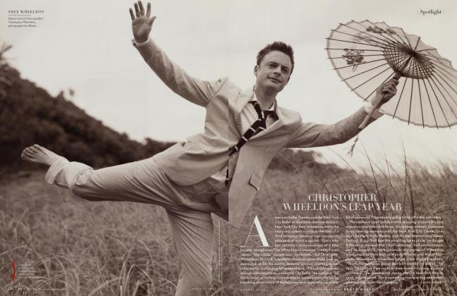 Article Preview: CHRISTOPHER WHEELDON'S LEAP YEAR, August 2007 2007 | Vanity Fair