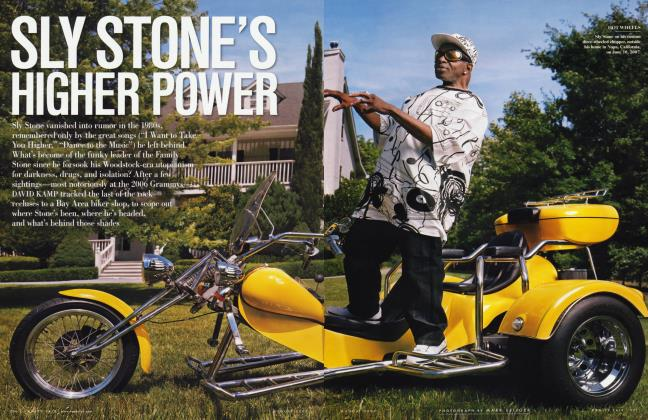 Article Preview: SLY STONE'S HIGHER POWER, August 2007 2007 | Vanity Fair