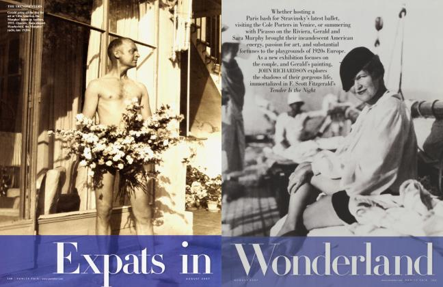 Article Preview: Expats in Wonderland, August 2007 2007 | Vanity Fair