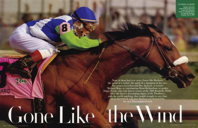 Article Preview: Gone Like the Wind, August 2007 | Vanity Fair