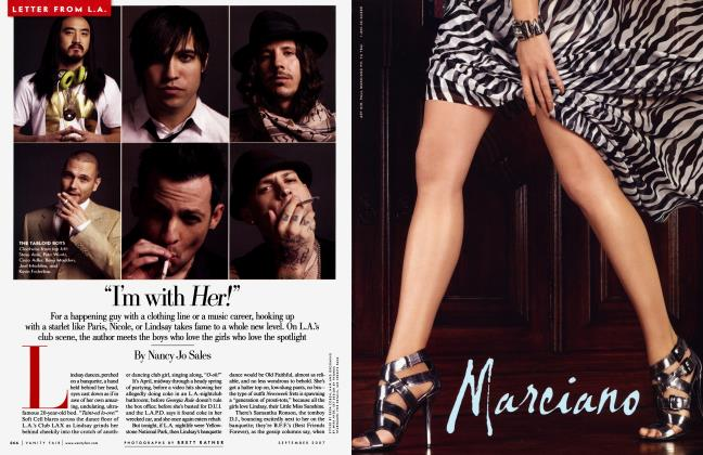 """Article Preview: """"I'm with Her!"""", September 2007 