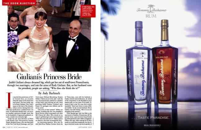 Article Preview: Giuliani's Princess Bride, September 2007 | Vanity Fair