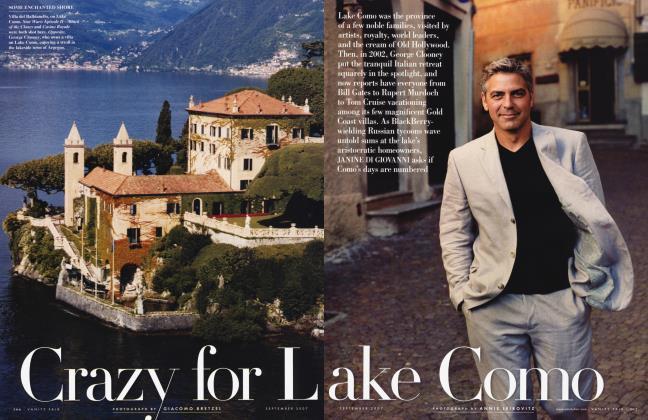 Article Preview: Crazy for Lake Como, September 2007 | Vanity Fair