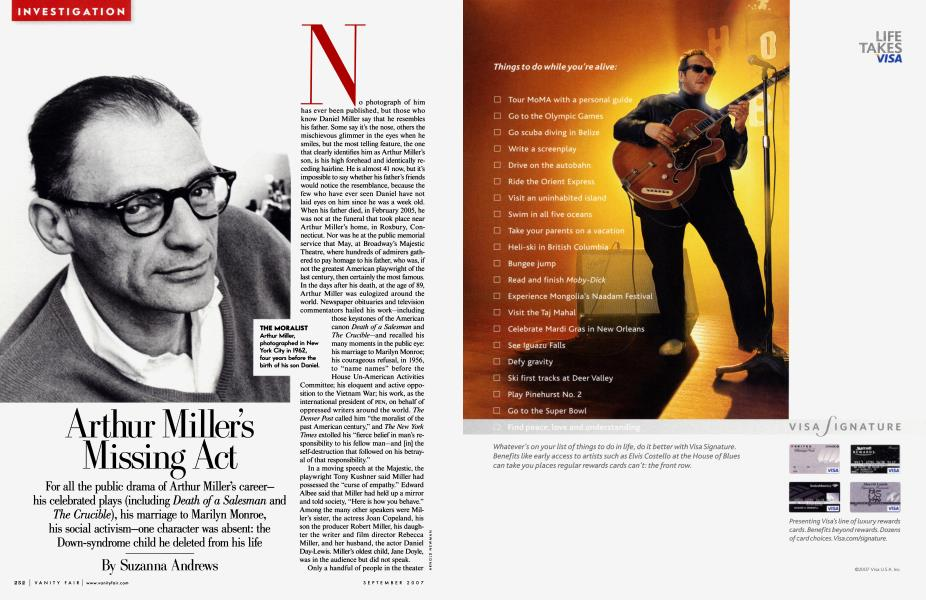 Arthur Miller's Missing Act