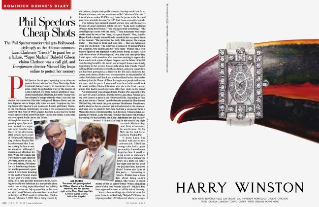 Article Preview: Phil Spector's Cheap Shots, October 2007 2007 | Vanity Fair
