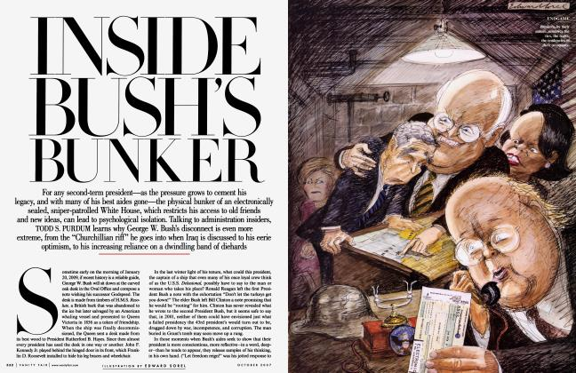 Article Preview: INSIDE BUSH'S BUNKER, October 2007 2007 | Vanity Fair