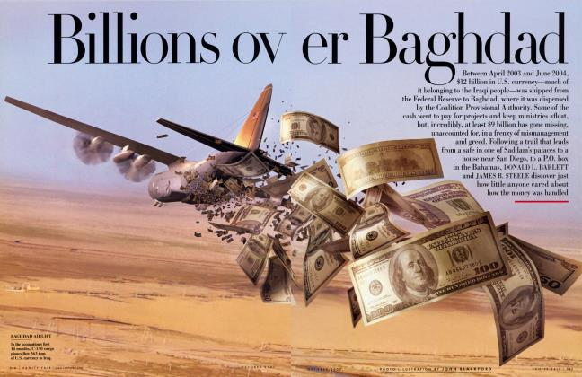 Article Preview: Billions over Baghdad, October 2007 2007 | Vanity Fair
