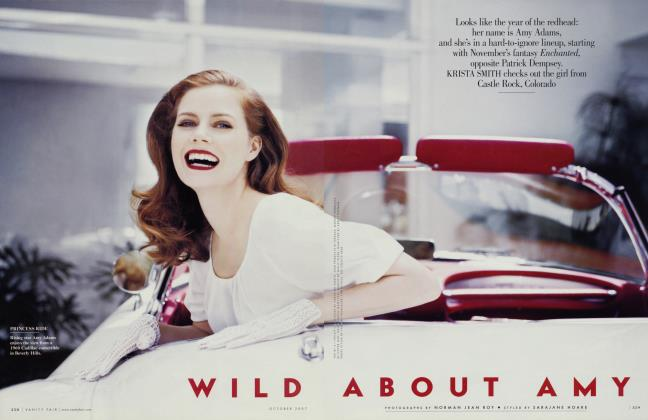 Article Preview: WILD ABOUT AMY, October 2007 2007 | Vanity Fair